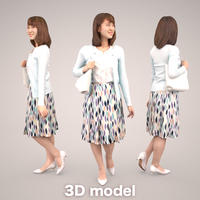 3D人物素材  019_Kana