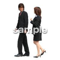 人物切抜き素材 オフィス・フォーマル編 G_035