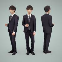 3D人物素材  [Posed]  031_Toru
