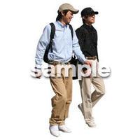 人物切抜き素材 リビング・散歩編 I_085