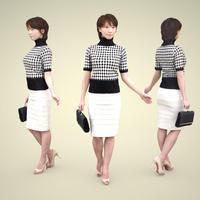 3D人物素材 [Posed]   025_Haru