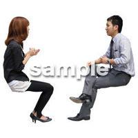 人物切抜き素材 アーバン・ショッピング編 M_348