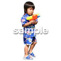 人物切抜き素材 夏服・フィットネス編 J_059