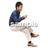 人物切抜き素材 アーバン・ショッピング編 M_487
