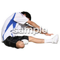 人物切抜き素材 夏服・フィットネス編 J_496