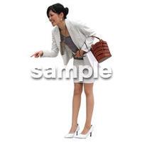 人物切抜き素材 アーバン・ショッピング編 M_148