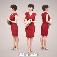 3D人物素材 [Posed]   023_Haru