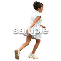 人物切抜き素材 夏服・フィットネス編 J_263