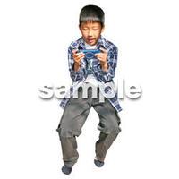 人物切抜き素材 リビング・散歩編 I_420