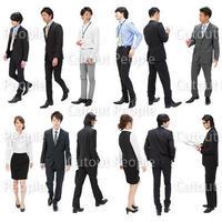 人物切抜きセット☆ビジネス・日本人 1_set090