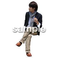 人物切抜き素材 アーバン・ショッピング編 M_467