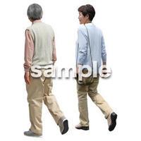 人物切抜き素材 シニアライフ編 R_064