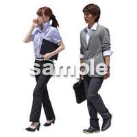 Cutout People ビジネス-日本人 EE_192