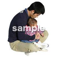 人物切抜き素材 リビング・散歩編 I_054
