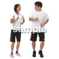 人物切抜き素材 夏服・フィットネス編 J_324