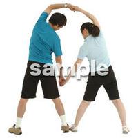 人物切抜き素材 夏服・フィットネス編 J_337