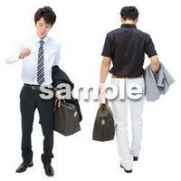 Cutout People ビジネス-日本人 EE_041