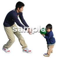 人物切抜き素材 リビング・散歩編 I_389