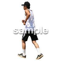 人物切抜き素材 夏服・フィットネス編 J_423