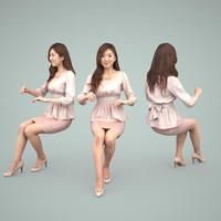 3D人物素材  [Posed]  059_Mao