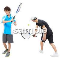 Cutout People スポーツ CC_234