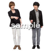 Cutout People 男性ペア JJ_401