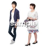 Cutout People ショッピング JJ_017