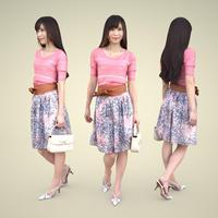 3D人物素材 [Posed]  077_Yui