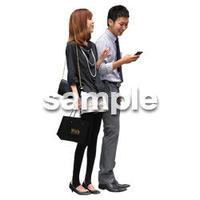 人物切抜き素材 アーバン・ショッピング編 M_053