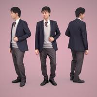 3D人物素材  [Posed]  103_Sota
