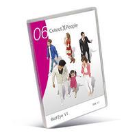 06 Cutout People 鳥瞰   [DVD]