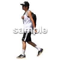 人物切抜き素材 リビング・散歩編 I_128