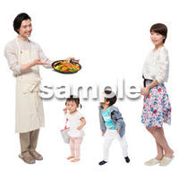 Cutout People 4人家族 II_312