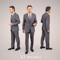 3D人物素材 [Posed]   045_Ken