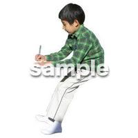 人物切抜き素材 リビング・散歩編 I_418