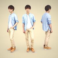 3D人物素材 [Posed]   033_Toru