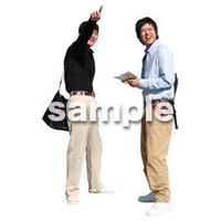 人物切抜き素材 リビング・散歩編 I_079