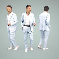 3D人物素材  [Posed]  043_Ken