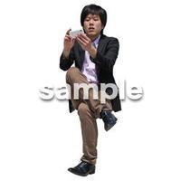 人物切抜き素材 アーバン・ショッピング編 M_496