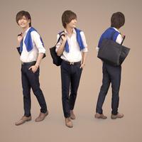 3D人物素材  [Posed]  085_Ren