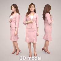 3D人物素材 [Posed]   055_Mao