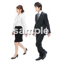 Cutout People ビジネス-日本人 EE_012