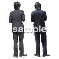 人物切抜き素材 ベーシックファッション編 P_080