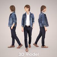 3D人物素材  087_Ren