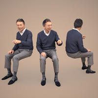 3D人物素材  [Posed]  047_Ken