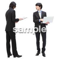 Cutout People ビジネス-日本人 EE_024