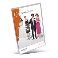 04 Cutout People パーティー   [DVD]