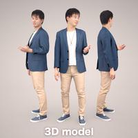 3D人物素材 [Posed]   107_Sota