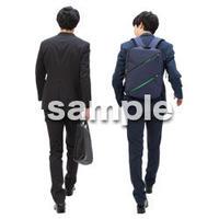 Cutout People ビジネス-日本人 EE_135
