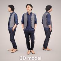 3D人物素材 [Posed]   069_Syun